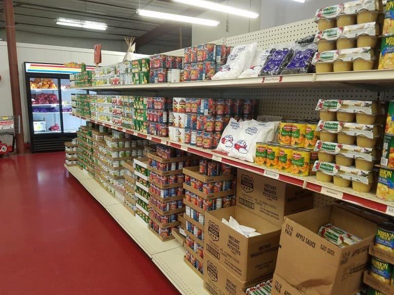 grocery-shelf